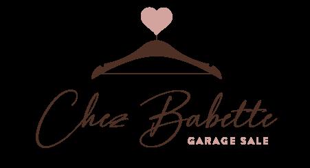 Chez Babette Garage Sale